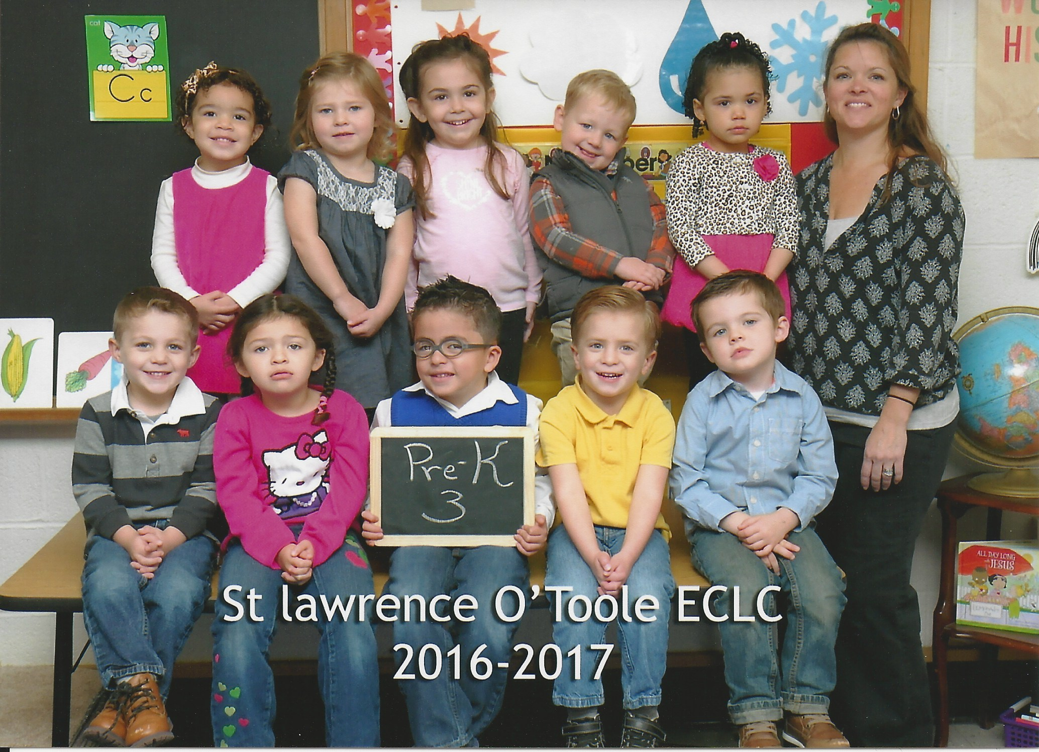 St Lawrence Otoole Church Pre K 3